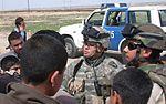 1st. Lt. Yukitoshi Murasaki inspects Iraqi Police post DVIDS17938.jpg