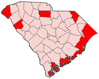 United States presidential election in South Carolina, 2000 - Image: 2000SCgopprimary