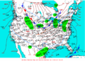 2003-02-08 Surface Weather Map NOAA.png