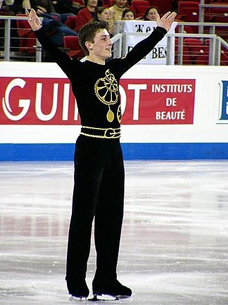 Brian Joubert - Joubert at the 2004 Europeans