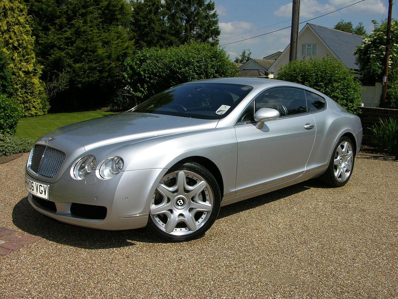 File:2006 Bentley Continental GT Mulliner - Flickr - The ...