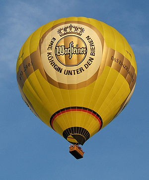 Warsteiner - Warsteiner hot air balloon manufactured by Ultramagic