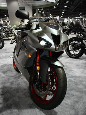 2007 Kawasaki Ninja ZX-6R on display at the 20...