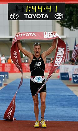 Greg Bennett gewinnt das Finale der Lifetime Triathlon US Open Series in Dallas (2007)