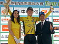 2008TourDeTaiwan Stage4 Overall Leader.jpg