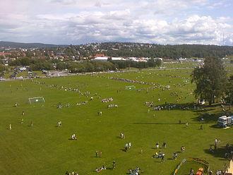 Ekebergsletta - Ekebergsletta during the Norway Cup (2009)