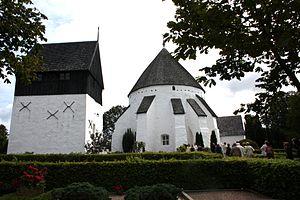 Østerlars Church - The freestanding tower