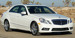 2010 Mercedes-Benz E 350 (W212) 4Matic sedan (US)