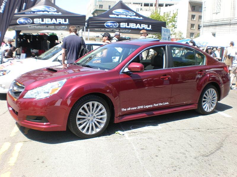 File:2010 red Subaru Legacy side.JPG