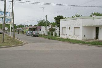 Carmen de Areco - A street in Carmen de Areco