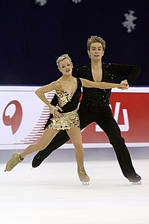 Penny Coomes English ice dancer