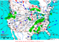 2012-01-26 Surface Weather Map NOAA.png