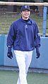 20120401 Kousuke Tomita pitcher of the Yokohama DeNA BayStars, at Yokosuka Stadium.JPG