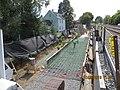 2013 10 09 Retaining Wall Progress South of Harvard Street Bridge looking South (14219203919).jpg
