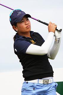 Thidapa Suwannapura Thai professional golfer