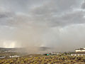 2014-07-20 14 59 49 Blowing dust along the outflow boundary of a thunderstorm in Elko, Nevada.JPG