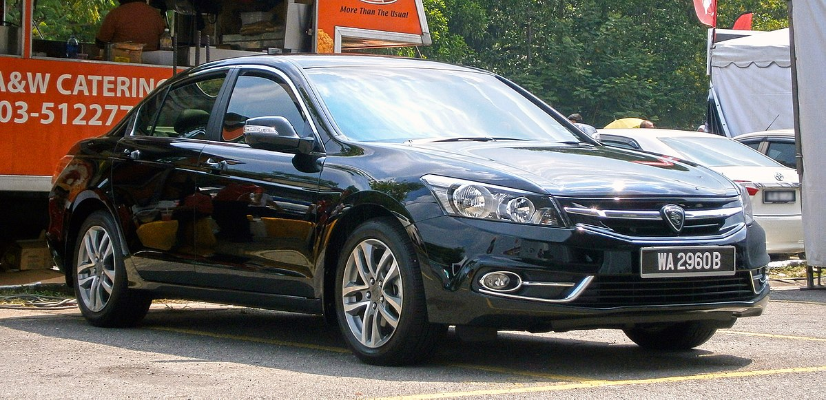Honda Accord Used >> Proton Perdana (second generation) - Wikipedia