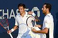 2014 US Open (Tennis) - Tournament - Michael Llodra and Nicolas Mahut (14943186960).jpg