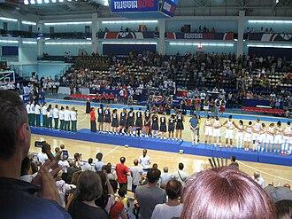 2015 FIBA Under-19 World Championship for Women - Image: 2015 FIBA Under 19 World Championship for Women podium