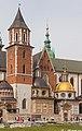 2015 Kraków, Wawel, Bazylika archikatedralna św. Stanisława i św. Wacława 07.jpg