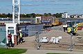 2015 London-Woolwich, Waterfront construction site 02.jpg