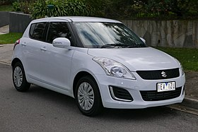 2015 Suzuki Swift (FZ MY15) GL 5-door hatchback (2015-07-15) 01.jpg