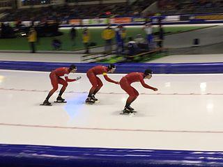 Simen Spieler Nilsen Norwegian speed skater
