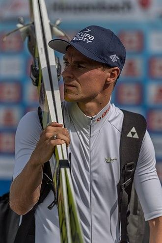 Piotr Żyła - Żyła at the FIS Summer Grand Prix in Hinzenbach, 2016