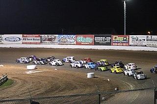 Legends car racing