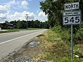 2017-08-12 15 09 32 View north along Maryland State Route 545 (Blue Ball Road) at Maryland State Route 279 (Newark Avenue) in Elkton, Cecil County, Maryland.jpg
