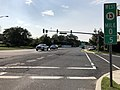 2018-09-19 16 09 24 View west along New Jersey State Route 13 and Ocean County Route 632 (Bridge Avenue) at Ocean County Route 604 (Bay Avenue) on the border of Bay Head and Point Pleasant in Ocean County, New Jersey.jpg