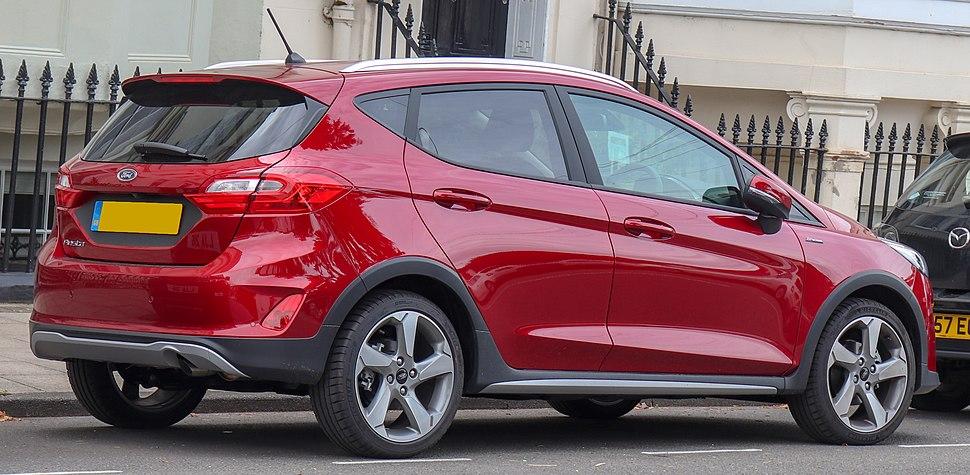 Ford Fiesta - Howling Pixel