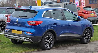 Renault Kadjar - 2018 facelift