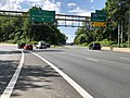 2019-05-27 16 04 45 View west along the outer loop of the Capital Beltway (Interstate 495) at Exit 35 (Interstate 270 West, Frederick) on the edge of North Bethesda and Bethesda in Montgomery County, Maryland.jpg