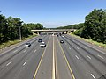2019-07-16 09 49 15 View south along Interstate 95 (John F. Kennedy Memorial Highway) from the overpass for Maryland State Route 152 (Mountain Road) in Joppatowne, Harford County, Maryland.jpg