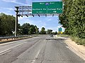 2019-08-19 16 25 58 View north along U.S. Route 29 (Colesville Road) at the exit for Interstate 495 EAST (College Park) in Silver Spring, Montgomery County, Maryland.jpg