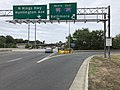 2019-10-06 14 11 55 View south along Virginia State Route 241 (Telegraph Road) at the exit for Interstate 95 NORTH-Interstate 495 EAST (Baltimore) on the edge of Huntington and Rose Hill in Fairfax County, Virginia.jpg