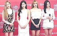 20190106 (NEWSEN) 블랙핑크 (BLACKPINK), 수줍은 많은 소녀지만 돋보이는 아름다운 미모 (Golden Disc Awards 2019) (2).jpg