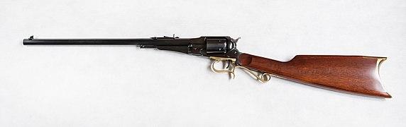 2019 Karabinek czarnoprochowy Uberti Remington 1858 New Army Target Carbine .44.jpg