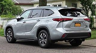 2020 Toyota Highlander XLE AWD, rear