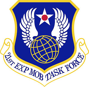 21st Expeditionary Mobility Task Force - Image: 21st Expeditionary Mobility Task Force Emblem