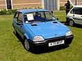 237 - 1993 blue Rover Metro Quest, front.jpg