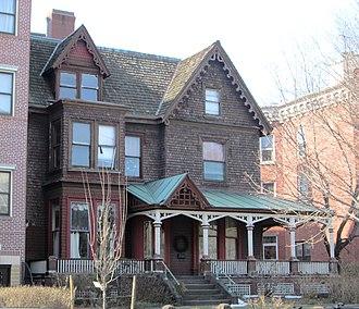Clinton Hill, Brooklyn - Image: 284 Clinton Avenue William W. Crane House