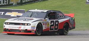 JGL Racing - J. J. Yeley's 5th place car at Road America