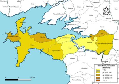 carte presqu île de crozon Communauté de communes Presqu'île de Crozon Aulne maritime — Wikipédia