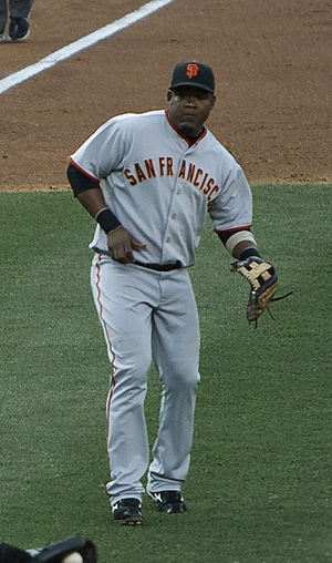 Juan Uribe - Uribe playing for the San Francisco Giants in 2009