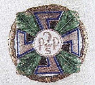 22nd Mountain Infantry Division (Poland) - Image: 2PSP odznaka
