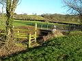 2 Bridges Over a Stream - geograph.org.uk - 645444.jpg