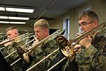 2nd MAW Band tunes up for holiday concert 111129-M-FL266-378.jpg