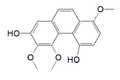 3,4,8-trimethoxyphenanthrene-2,5-diol.png